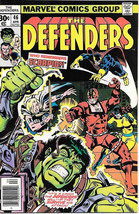 The Defenders Comic Book #46, Marvel Comics 1977, VERY FINE-, NEW UNREAD - $4.75