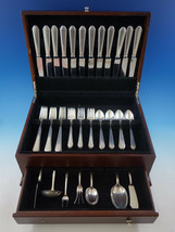 William and Mary by Lunt Sterling Silver Flatware Set for 12 Service 55 pieces - $3,295.00