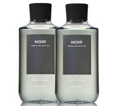 Bath & Body Works Noir For Men - 1 - Set of 2 - Hair + Body Wash Duo Set - $26.41