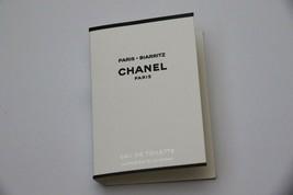 Chanel Les Eaux Paris - Biarritz Eau de Toilette Sample Spray EDT 1.5 ml .05 oz - $7.95