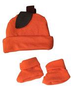 Preemie Baby Pumpkin Hat & Boosties Set   - $18.00