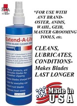 CLIPPER BLADE CARE RINSE CLEANER LUBRICATING SPRAY Wash For Oster,Andis... - $13.83