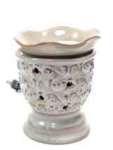 Scentsy Wax Warmer in Earth Tone Colors with Bulb (purhg) - $24.75