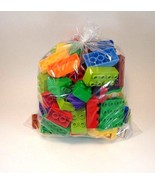 100% LEGO Pieces Mixed Bulk 100 Piece Bag Blocks Toy Creative Children Fun - $17.63