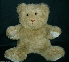 "15 ""vintage brown applause 1985 stuffed animal bear toy tawny carmelteddy - $45.45"
