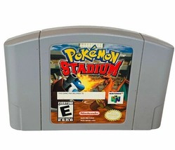 Pokemon Stadium Nintendo 64 Video Game vtg cartridge only Japan 1997  - $29.65