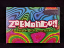 Zobmondo Card Game Hasbro Adult What Would You Do? Outrageous Bizarre Ch... - $12.13