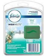 Febreze Wax Melts Fresh Cut Pine Air Freshener (1 Count, 2.75 Oz), 0.172... - $2.92