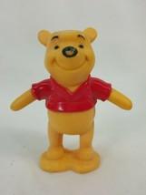 """Walt Disney Winnie The Pooh Figure 3"""" Tall Plastic IBD31 - $5.49"""