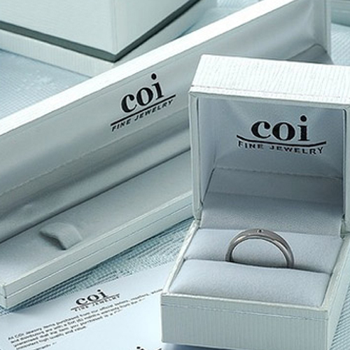 coi Jewelry Tungsten Carbide King Queen Wedding Band Ring-458