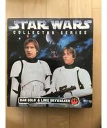"""LUKE SKYWALKER & HAN SOLO as Storm Troopers 1996, KENNER 12"""" NIB double ... - $79.33"""