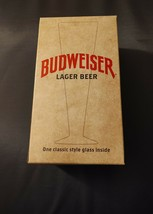 Budweiser Lager Beer Classic Style Glass NIB! - $14.65