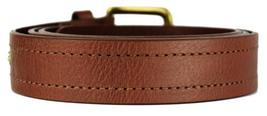 NEW LEVI'S MEN'S STYLISH CLASSIC PREMIUM GENUINE LEATHER BELT BROWN 11LV3253 image 4