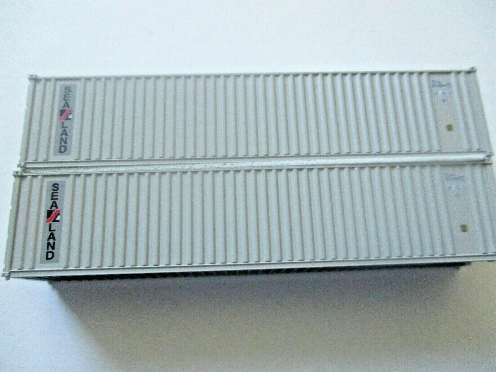 Jacksonville Terminal Company # 405501 Sealand 40' Standard Wave Panel Side (N)