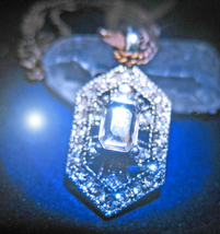 HAUNTED NECKLACE ALL THAT IS MAJESTIC ROYAL POWERS HIGH MAGICK 925 7 SCH... - $100.00