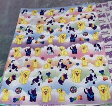 PICK1*Lisa Frank Sticker Sheet Minis Kitten Fruit Panda Peekaboo Koala Ice Cream image 4