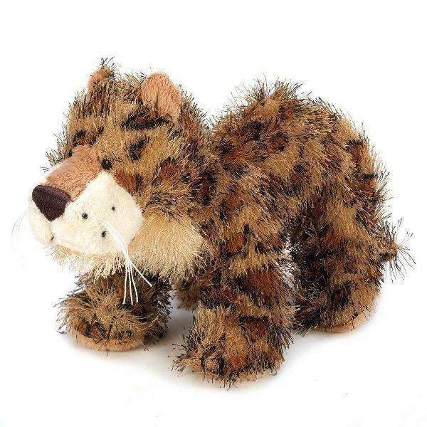 Webkinz & Lil Kinz LEOPARD Jungle Cats Ganz HM031 HS031 Bean Bag Plush Toys Pair image 3