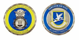 """RAMSTEIN AIR FORCE BASE SECURITY POLICE SECURITY FORCES 1.75"""" CHALLENGE ... - $16.24"""