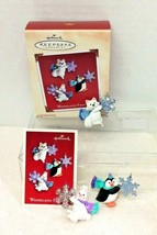 2002 Woodland Frolic Hallmark Christmas Tree Ornament MIB Tag - $12.38