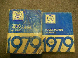 1979 Buick Chassis All Series Service Manual Factory Oem 2 Volume Set Worn - $34.60