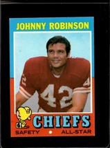 1971 TOPPS #88 JOHNNY ROBINSON EX CHIEFS HOF  *X2794 - $2.48