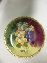 Vintage Beautiful Limoges Fruit Plate Redon Fra... - $51.43