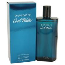 COOL WATER by Davidoff Eau De Toilette Spray 6.7 oz (Men) - $37.43