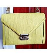 Michael Kors WHITNEY Quilt Leather Shoulder Bag Purse Chain Strap SUNNY ... - $128.69