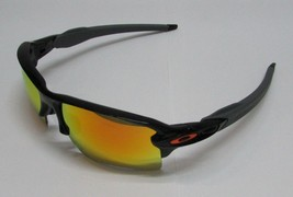 Oakley Sunglasses FLAK 2.0 XL Team Colors OO9188-22 Polished Black/ Fire... - $102.49