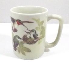 Otagiri Japan Coffee Mug Design Gibson Inc Birds Leaves - $13.45