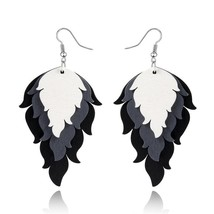 African Feather Earrings - $14.99