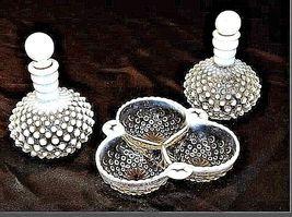 Milk Glassware AB 734 Vintage 3Pc image 3