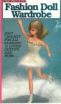 1982 Fashion Barbie Doll Wardrobe McCall's Knit & Crochet Vintage Book16 Outfits - $10.25