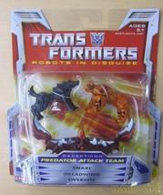 Hasbro Transformers 0653569206477 Predator Attack Team Robot Soft Vinyl ... - $121.86