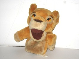 """Disney The Lion King Young Simba Plush Hand Puppet 9"""" Embroidered Eyes - $9.79"""