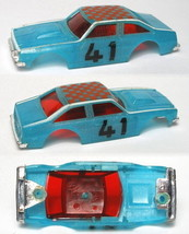 1977 Ideal TCR Slot Less Nova Glo Car BODY MK1 & Unused - $16.82