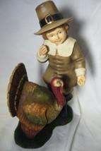 Bethany Lowe Odin Feeding Thanksgiving Turkey image 2