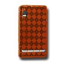 Amzer Luxe Argyle High Gloss TPU Soft Gel Skin Case for Motorola DROID 2... - $8.86