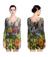Dragon Ball Z Women Sexy Long Sleeve Bodycon  Dress - $24.80+