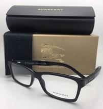 New BURBERRY Eyeglasses B 2108 3001 54-16 140 Shiny Black Frames w/Spring Hinges