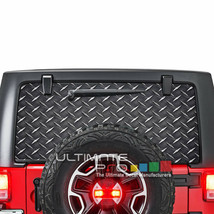 Sticker Bomb Skin CThru Stickers Perforated for Jeep Wrangler 2doors rear window - $59.80