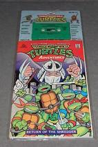 Teenage Mutant Ninja Turtles Adventures Comic w/ Cassette Return of Shre... - $27.00