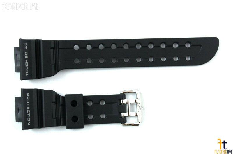 CASIO G-SHOCK FROGMAN GWF-1000 Original Black Rubber Watch BAND Strap GF-1000