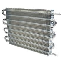 "3/8"" Universal Aluminum Transmission Oil Cooler 15-1/2"" x 10"" x 3/4"""