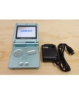 Nintendo Game Boy Advance GBA SP Pearl Blue System AGS 101 Brighter MINT NEW - $121.51