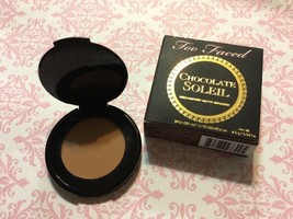 Too Faced Chocolate Soleil medium deep matte bronzer .08 oz New - $9.49