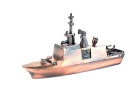 Navy Surveillance Ship Die Cast Metal Collectible Pencil Sharpener - $6.90