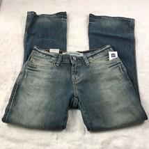 NWT Gap Women's Ultra Low Rise Slim Flare Jeans Ankle Vintage Sandblasted Sz 2 - $36.12