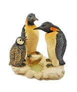 """Penguin Family Figurine The Juliana Collection Father Mother Baby Resin 6"""" - $14.50"""