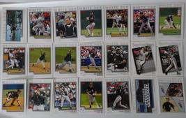 2004 Topps Series 1 & 2 Chicago White Sox Team Set of 21 Baseball Cards - $3.00